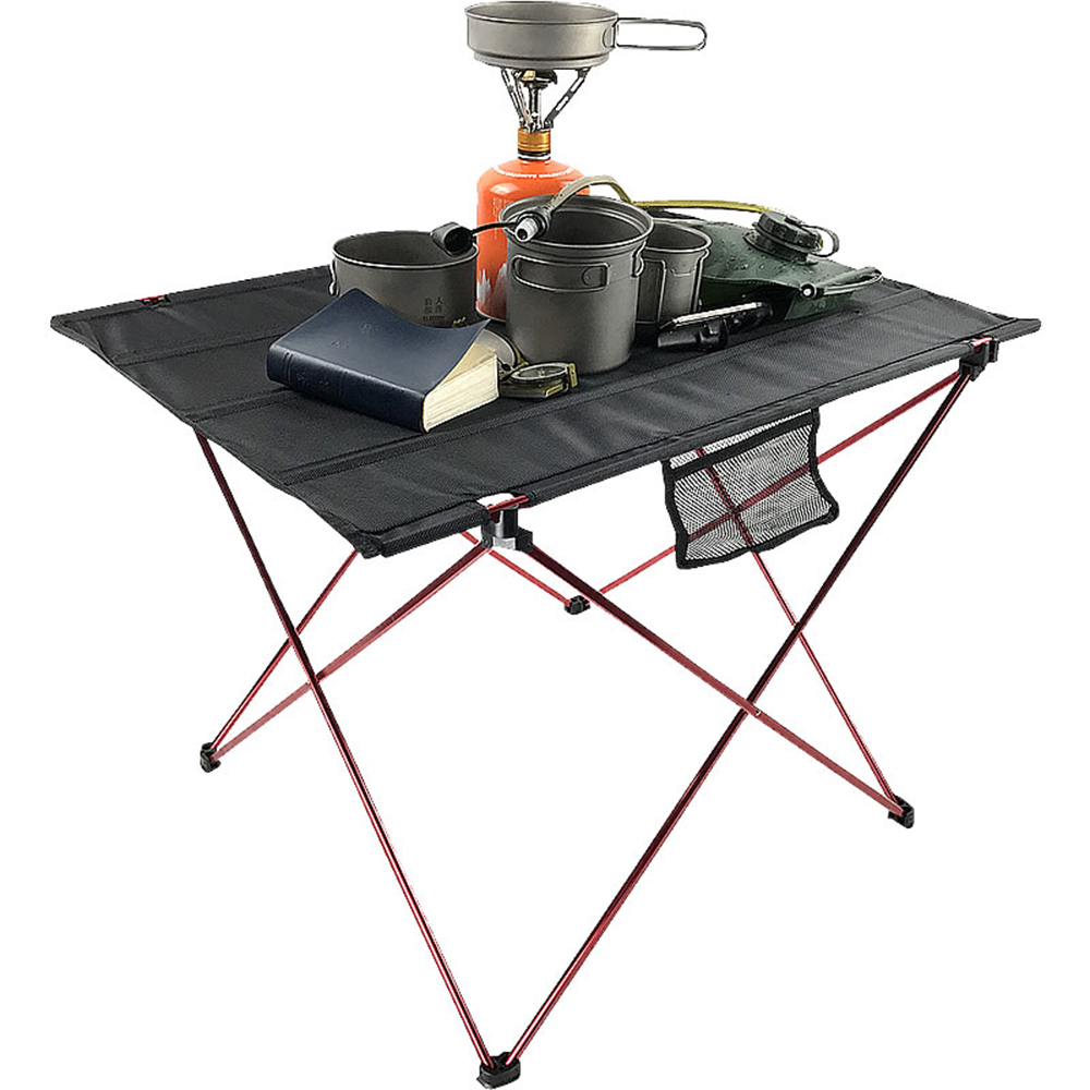 Portable Outdoor Dining Table Garden Folding Desk With Waterproof Oxford Cloth Lightweight Camp Table Carrying Bag Included