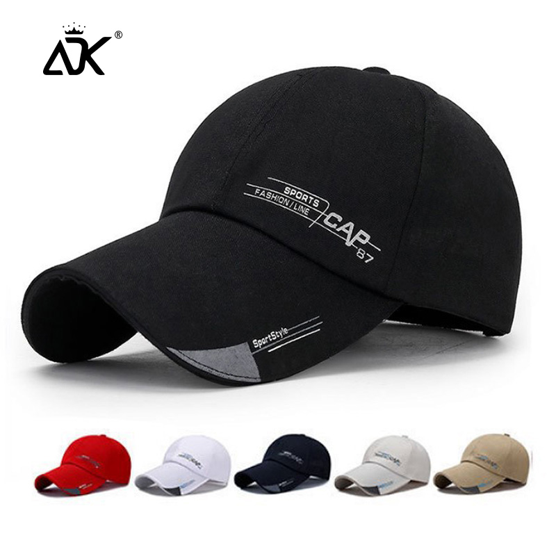 Man Baseball Cap Sports Outdoor Hats Summer Spring Hat Sun Visor For Women Men Hip Hop Snapback Wholesale