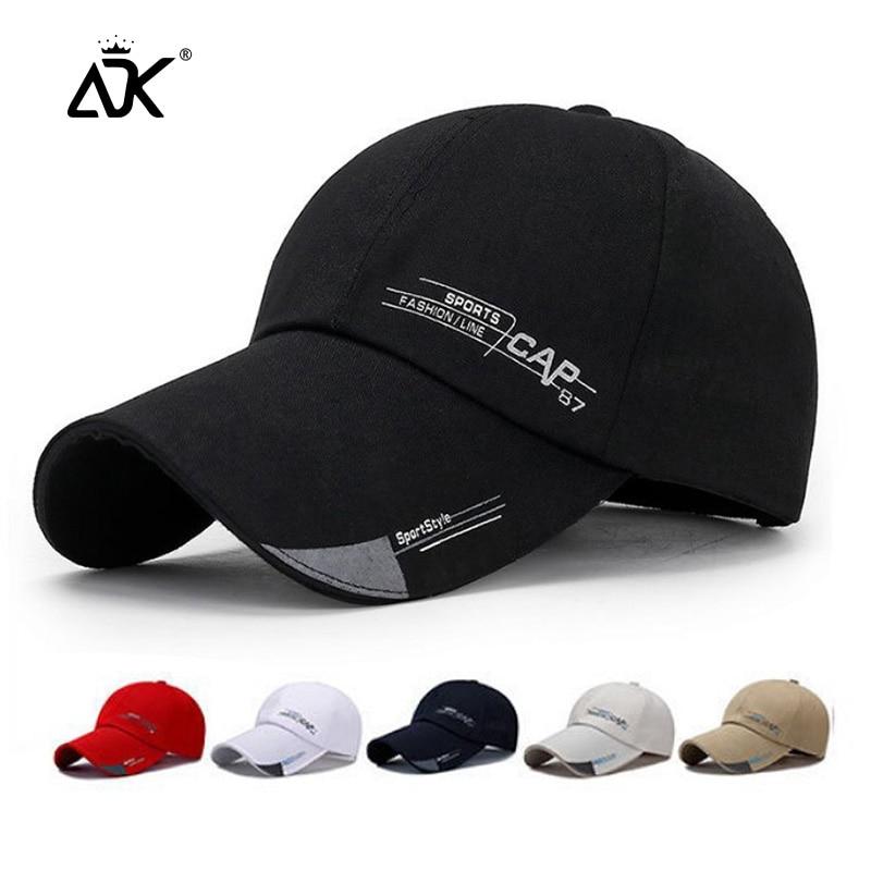 Man Baseball Cap Sports Outdoor Hats Summer Spring Hat Sun Visor For Women Men Hip Hop Snapback Wholesale