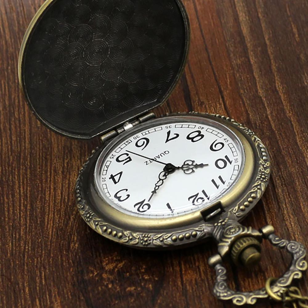 Vintage Pocket Watches Fishing Fish Fob Watch Relogio Masculino Relogio De Bolso For Man Woman Clock Nurse Watch Birthday Gifts