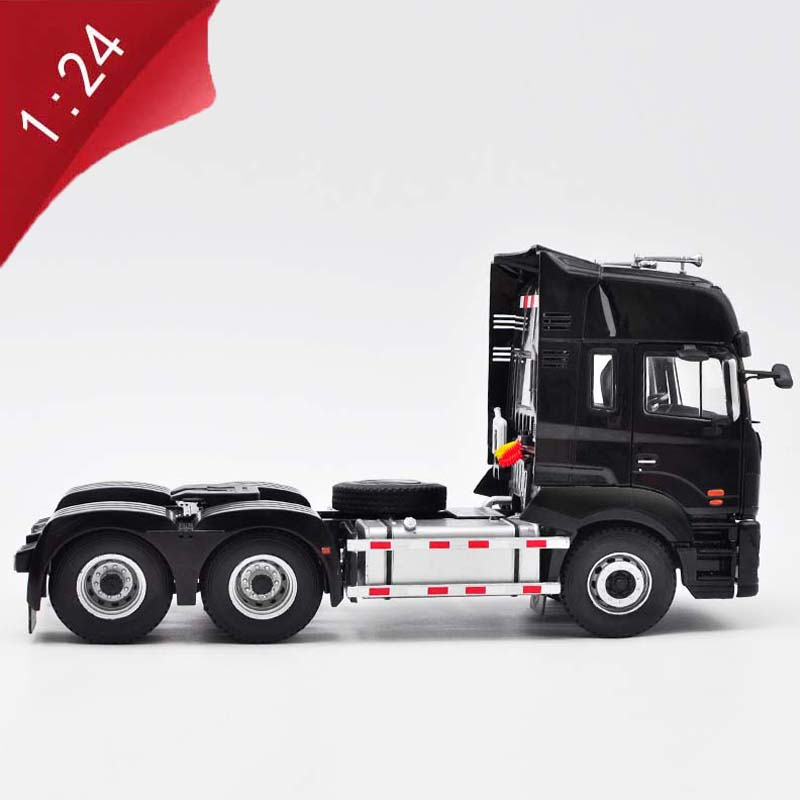 1/24 Alloy Die-casting Vehicle JAC A5W Tractor Model  Metal Truck Accessories Model Adult Children Boys Toys Gift Display Show