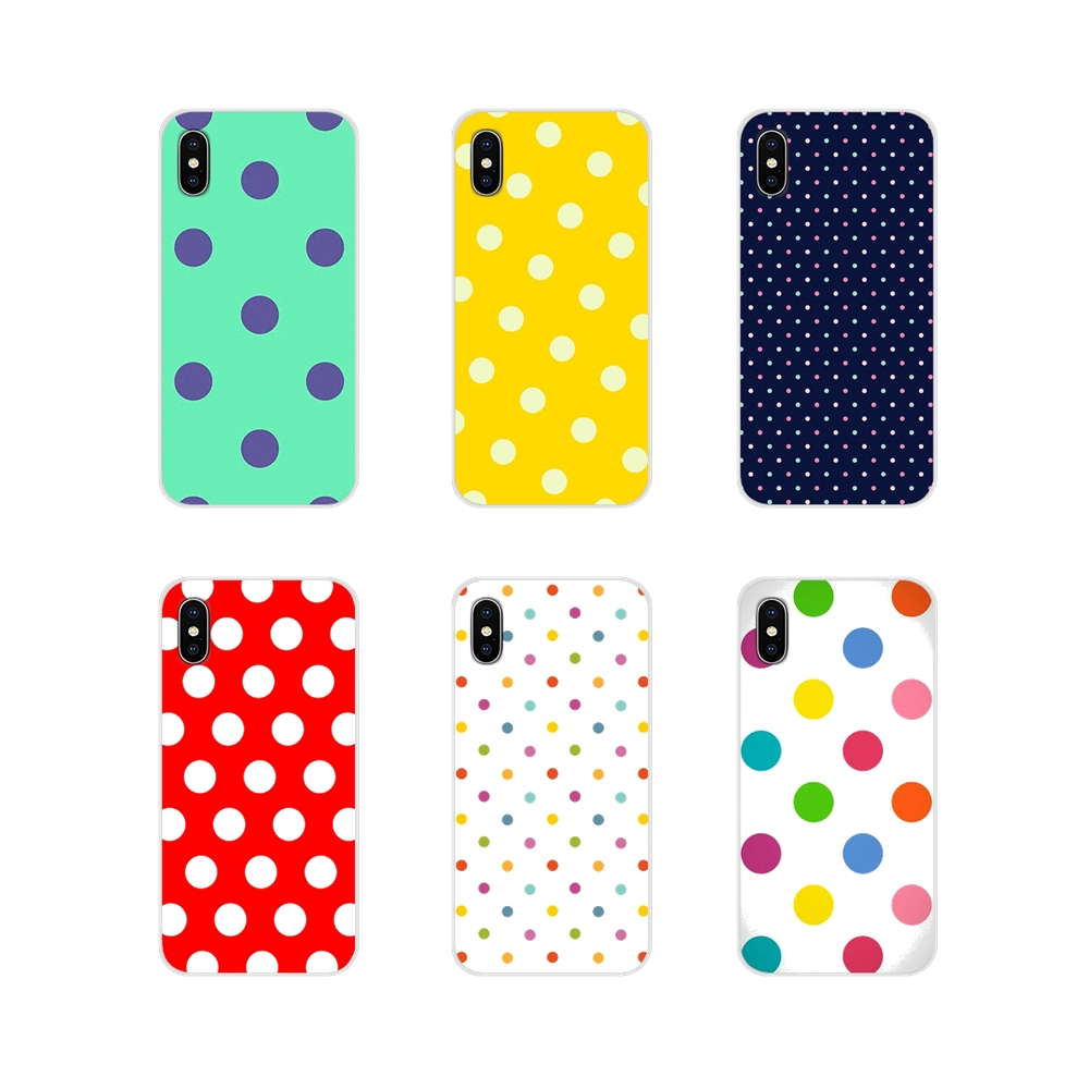 Accessories Phone Shell Covers For Motorola Moto X4 E4 E5 G5 G5S G6 Z Z2 Z3 G G2 G3 C Play Plus Red Black Gold Polka Dots Dot