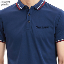 Personalised Mens Embroidery 100% skin-friendly plant fiber Polo Shirt S-4XL Custom Workwear TOP
