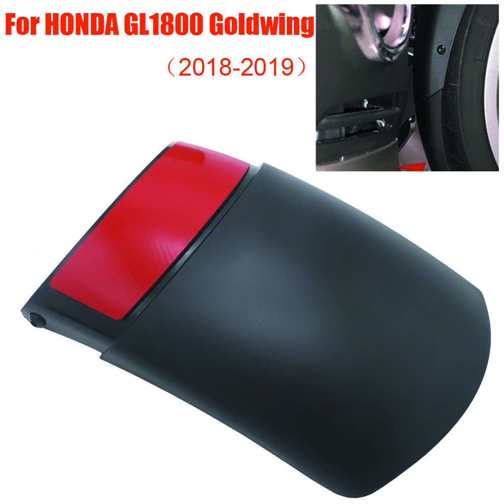 For HONDA GL1800 Goldwing 2018 2019 Motorcycle Front Fender Mudguard Tire Splash Guard Extension High Quality ABS Plastic