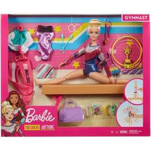 Original Barbie Doll Variety Gymnast With Doll Clothing Accessories Set Sports Girl Play House Toy Girls Gift