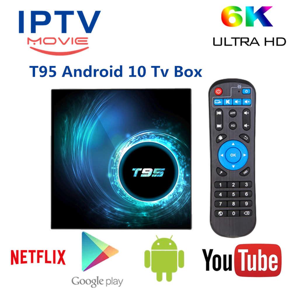 Best Iptv Box 2021 2021 New Android 10 T95 Volka Pro 2 IPTV smart Tv Box 4K set top