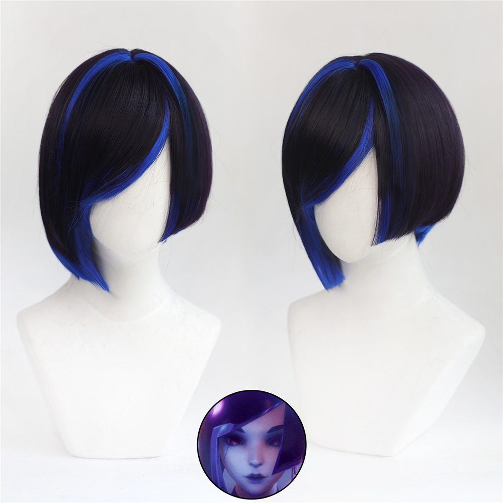 Game SUBVERSE DEMI Lily Cosplay Wig High Quality Cosplay Headwear Cosplay Props