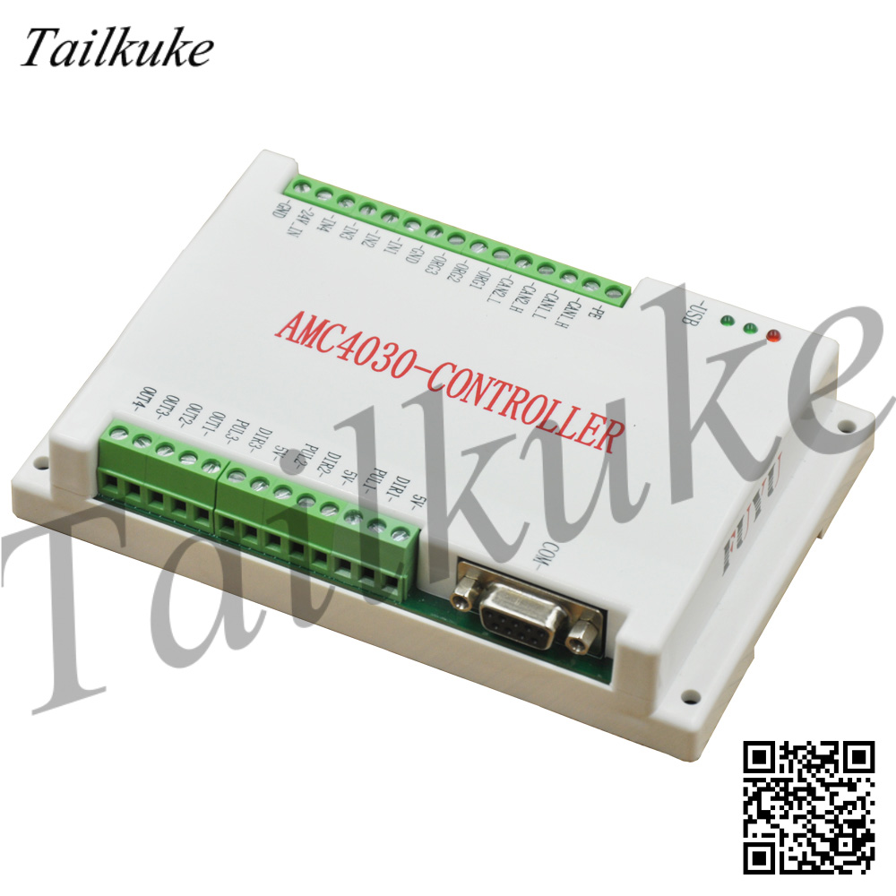 FUYU Three-Axis Motion Controller Programmable AMC 4030 Stepper Motor Segmented Motion Round-trip Controller