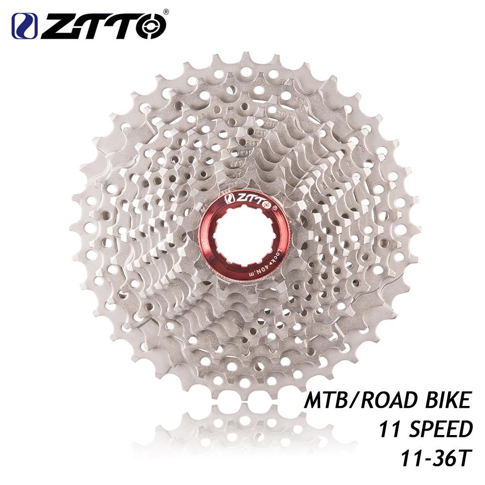 GloryStar ZTTO Road Bike MTB Bicycle <font><b>11</b></font> Speed <font><b>11</b></font>- <font><b>36T</b></font> Freewheel 11s Cassette Sprocket for UT DA K7 GX RIVAL1 Force1 1X system CX image