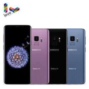 Разблокированный Snapdragon 845 Samsung Galaxy S9 G960 мобильный телефон 5,8