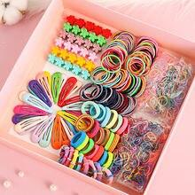 1 комплект милые эластичные резинки для волос девочек Шпилька