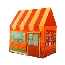 Pliant Playhouse Dessert maison jeu tente enfants/bébé balle fosse intérieur et extérieur jouet-Orange