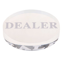 Poker Dealer Button Acryl PokerStars Dealer für Poker Karten Spiel 56mm Beste(China)