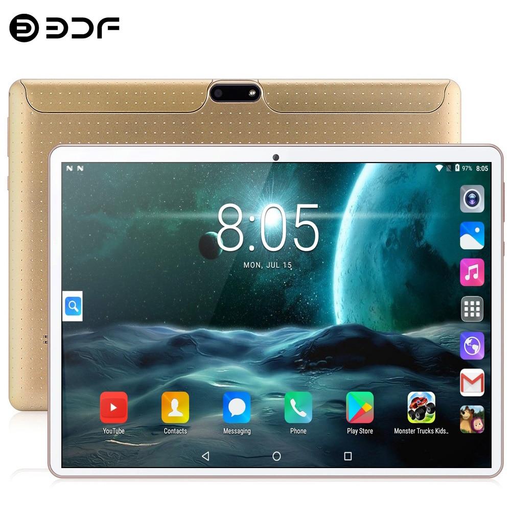 Новый оригинальный 10,1-дюймовый планшетный ПК, Google Android 7,0, планшеты 3G, телефонные звонки, Wi-Fi, GPS, Bluetooth, две SIM-карты, 2.5D стеклянный экран