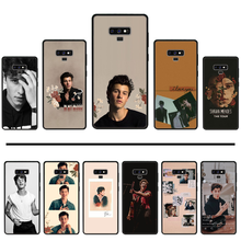Shawn Mendes Custom Photo Soft Phone Case For Samsung Galaxy S8 S9 S10 Plus Lite S10E Note 3 4 5 6 7 8 9 10 Pro cover(China)