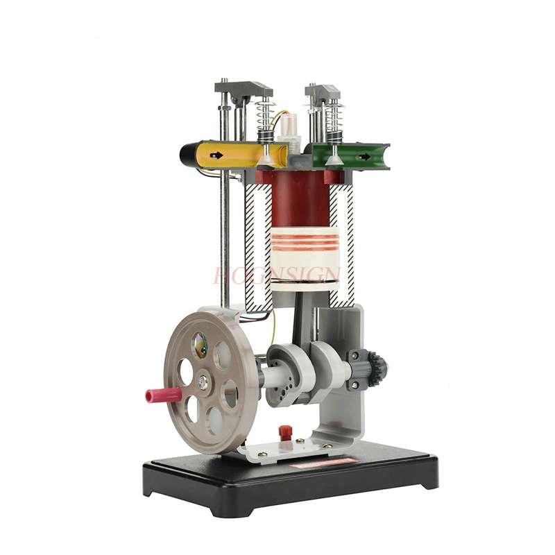 Gasoline diesel model single cylinder four stroke working principle demonstration teaching junior high school physics