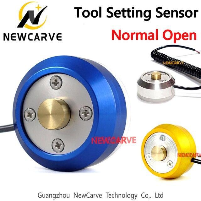 Herramienta de ajuste de eje Z para enrutador CNC NEWCARVE, bloque de Sensor, Sensor de ajuste cero