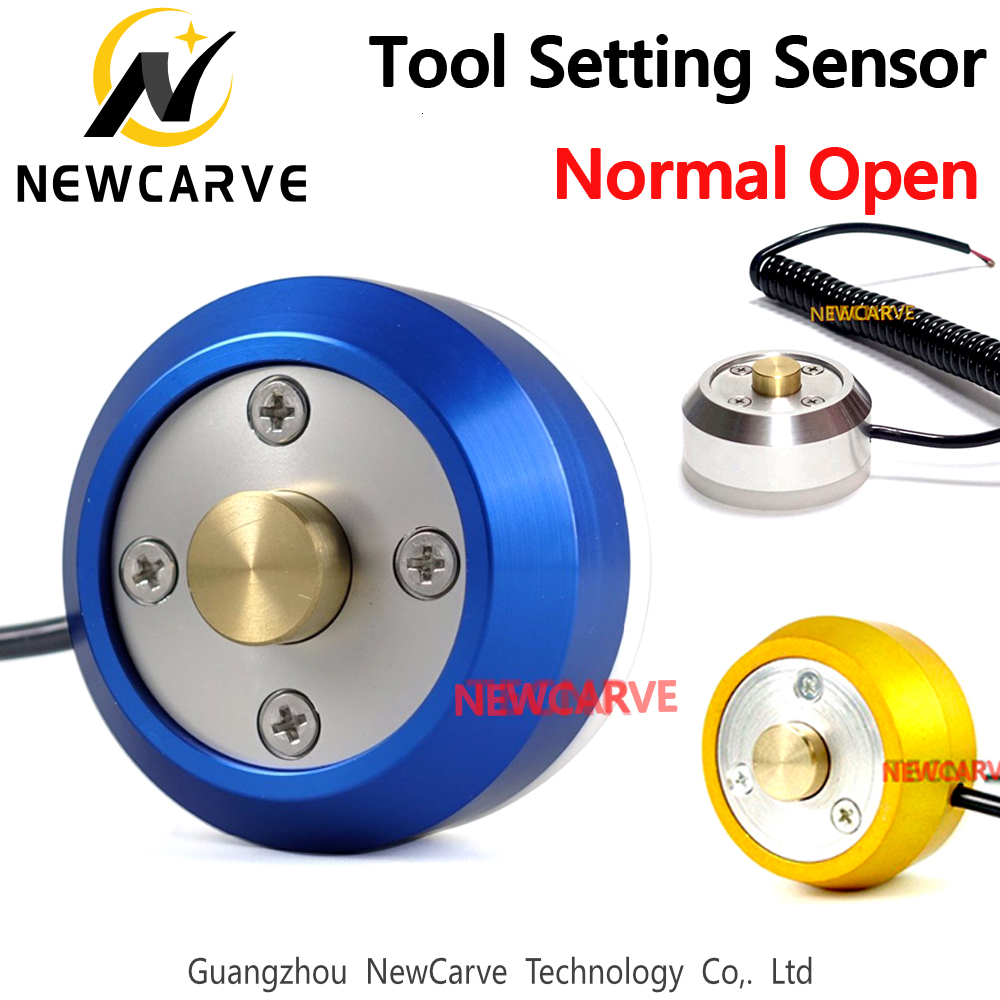Z Axis Setter Tool Setting Instrument Auto-Check Tool Sensor Block Zero Setting Sensor For CNC Router NEWCARVE