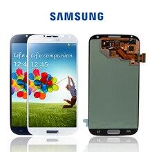 Amoled original lcds montagem para samsung galaxy, s4 i9506 i9500 i9505 i337 tela lcd touch screen digitalizador + com armação de moldura