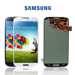 Image 1 - Original Amoled LCDs Assembly For Samsung Galaxy S4 i9506 i9500 i9505 i337 Screen LCD Touch Screen Display Digitizer+with Frame