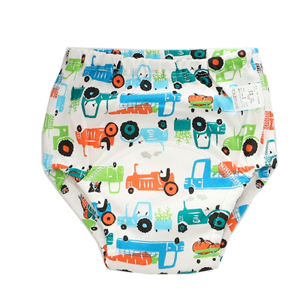 Washable Cotton Baby Training Pants Waterproof Newborn Baby Cloth Diaper 4Layers Infant Nappy Reusable Baby Learning Pants