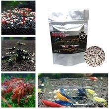 45g natural aquário camarão comida trigo stem bactérias camarão alimentos contendo vitaminas minerais para cristal vermelho cereja camarão