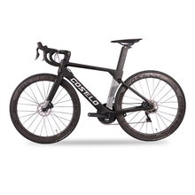2020 Costelo Aerocraft carbon fiber road bike frame complete bicycle 5D handlebar 50mm wheels group R8020