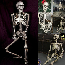 Newest  Halloween 90cm Scary Bones Props Hanging Haunted House Decoration