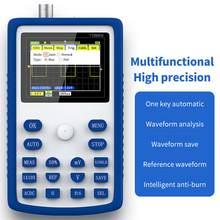 FNIRSI-1C15 melhor handheld mini osciloscópio digital portátil 110m largura de banda 500msps taxa de amostragem multifunções