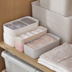 Plastikowe pudełko do przechowywania skarpet na oddzielne biurko szuflada pojemnik do przechowywania bielizny domowej organizery E2S