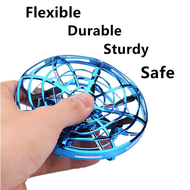 Mini Flying UFO RC drone Infraed Hand Sensing Helicopter Anti-collision Aircraft Flayaball Induction Quadcopter dron Kids Toys