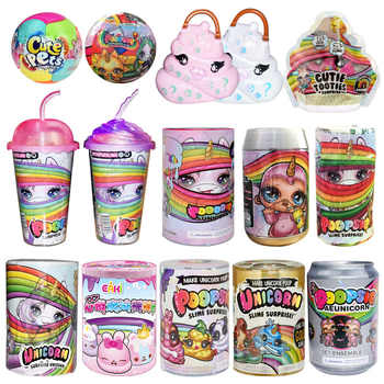 Poopsie Surprise Slime Unicorne Cans Sparkly Critters Poopsie Slime Licorne Unicorn Squishy Stress Reliever Toys - DISCOUNT ITEM  37% OFF All Category