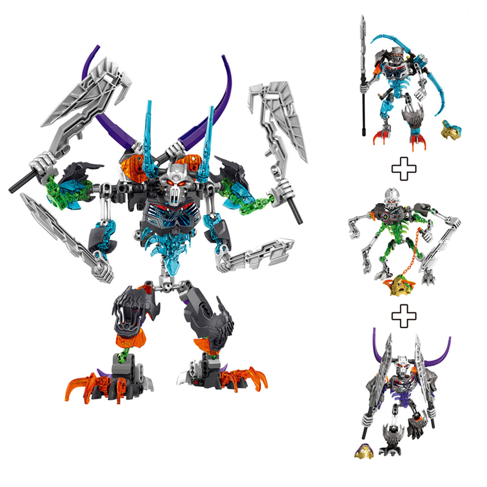 BionicleMask Light Children/'s Lord Of Skull Spider Bionicle Building Block Toys