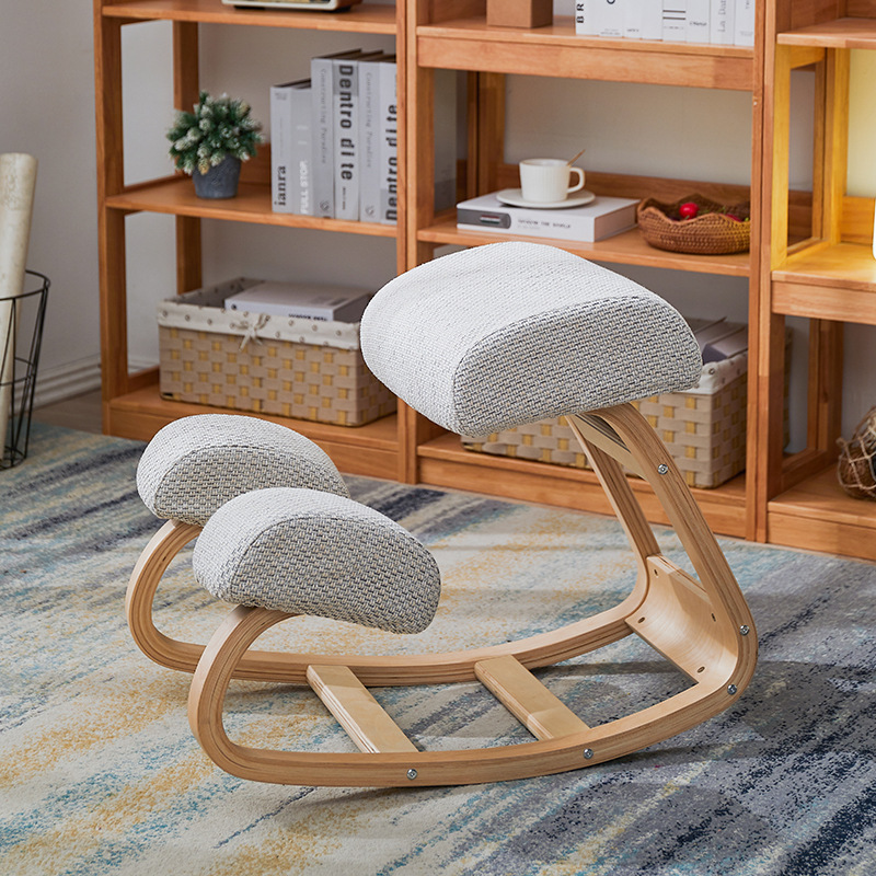 Orthopedics Kneeling Chair Children Orthopedic Learning Chair Students Spinal Rehabilitation Kneeling Stool Office Rocking Chair