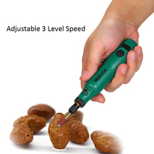 цена на KKmoon 18V 1.2W Mini Electric Grinder Set Cordless Grinding Machine Carving Engraving Pen Trimming Polishing Micro Drilling Tool