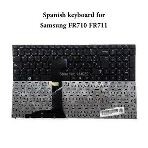 Клавиатура для ноутбука SAMSUNG RF710 RF711, испанская раскладка, ремонт You Life, новая