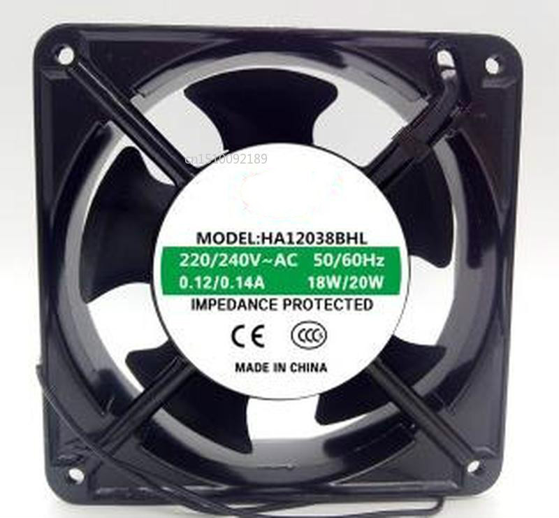 For HA12038BHL 220V-240V 25W 0.2A 12038 12CM Welding Machine Cooling Fan Free Shipping