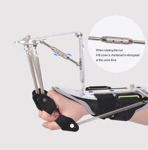 Image 5 - Equipo de fisioterapia y rehabilitación para manos, Órtesis dinámica para muñeca y dedo para la reparación de tendón de hemiplejia para pacientes