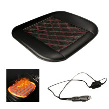 Car Winter Heater Heated Seat Cover Auto Heating Cushion Front 12V Warmer Pad