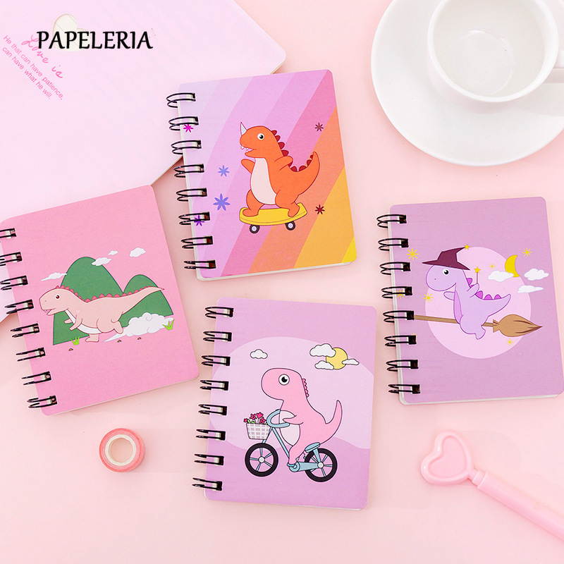 Hot Sale Cadba Mini Notebook Kawaii Dinosaur Unicorn A7