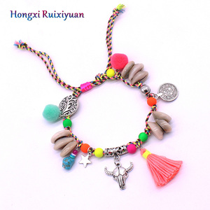 Shell anklet fashion beaded sh