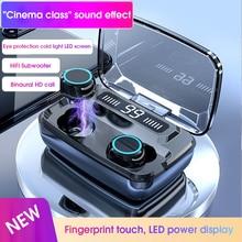 M11 Không Dây Chính Hãng Tai Nghe TWS Bluetooth 5.0 Tai Nghe In Ear Giảm Ồn Điều Khiển Cảm Ứng Game Thể Thao Tai Nghe Nhét Tai