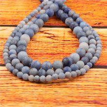 Lan Dongling Natural Stone Bead Round Loose Spaced Beads 15 Inch Strand 4mm For Jewelry Making DIY Bracelet