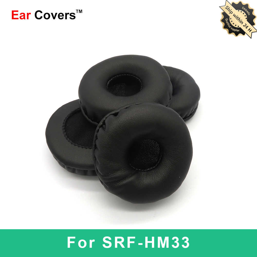 Амбушюры для Sony SRF HM33 SRF-HM33, амбушюры для наушников, сменные амбушюры для наушников из искусственной кожи и пены