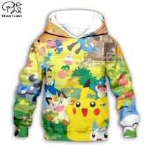 Kids Cloth Pokemon  Pikachu Cartoon 3d hoodies/tshirt/boy sweatshirt Hot Movie pant style-6