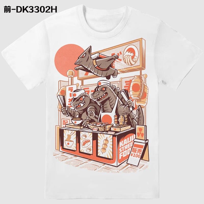 2020 new, 3D printed Pokémon series printed T-shirts men's and women's streetwear T-shirts summer high-quality T-shirts