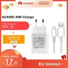 Globale Version HUAWEI Aufzurüsten Ladegerät 40W Max 10V 4A Anzug Für Android IOS Tablet