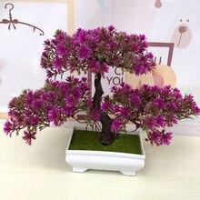 Моделирование искусственный цветок искусственное растение бонсай Балкон Гостиная декорации из искусственных цветов