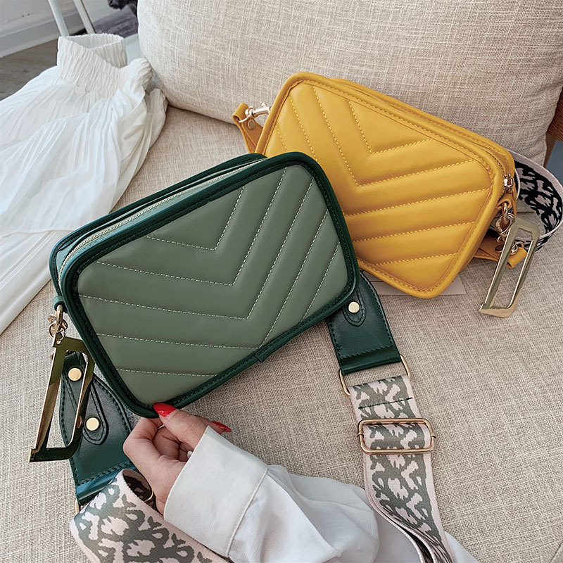 Bags For Women 2019 Clutch Strap Small Female Wide Shoulder Strap Shoulder Messenger Crossbody Bags Crossbody Bags For Women