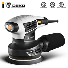 Orbit Sander Hybrid Dust-Exhaust DKSD28Q1 15-Sheets DEKO Random 280W with of